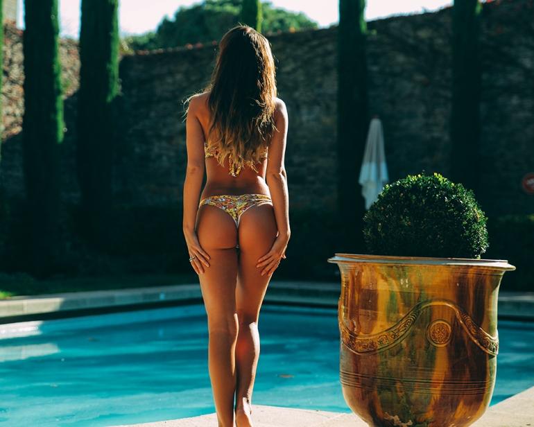 Jaymes Swimwear Poppy Bikini Spring Fling collection